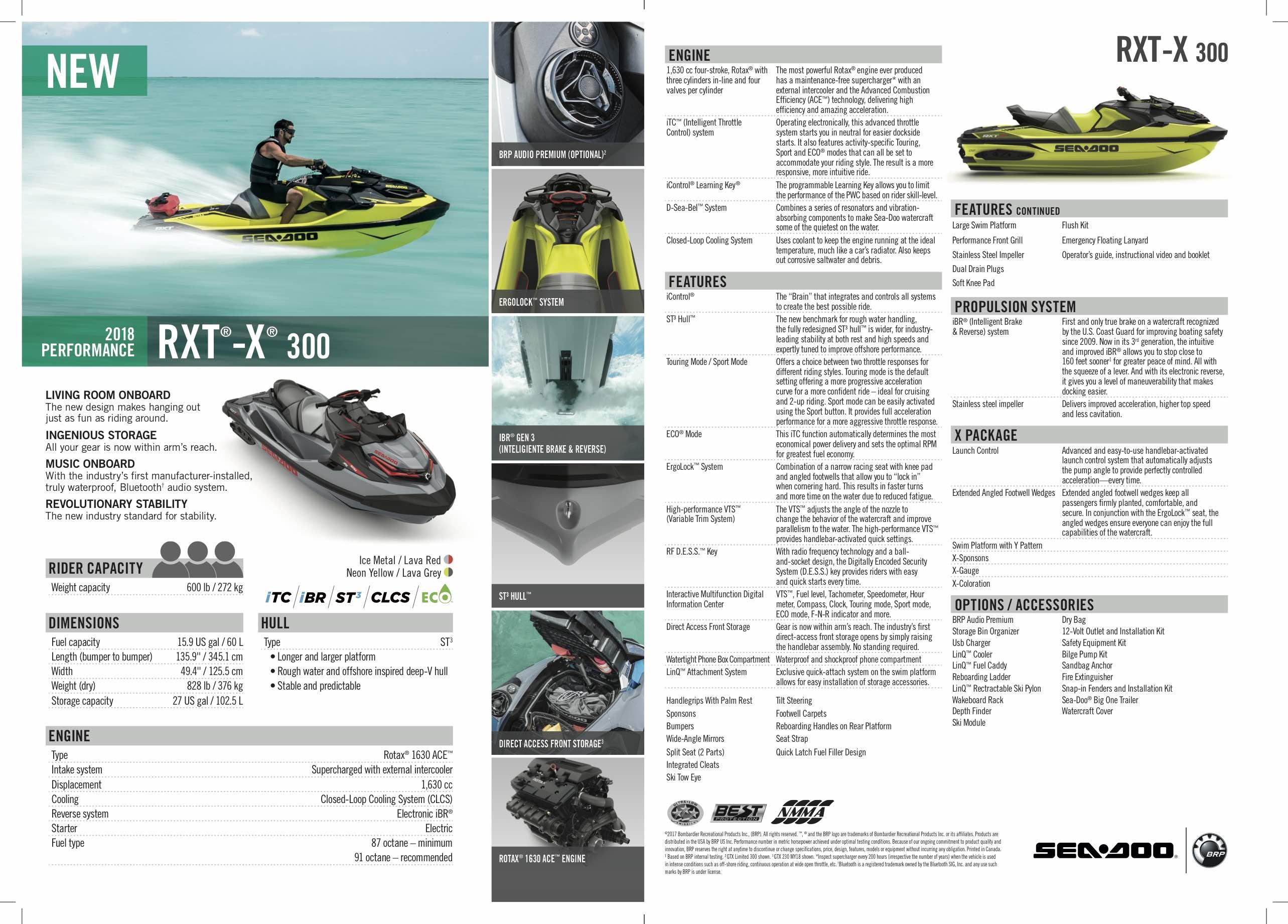 RXT-X 300 Seadoo Jet Ski available in Mallorca with Nauti Parts
