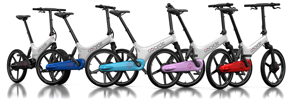 Gocycle GS a range of colours