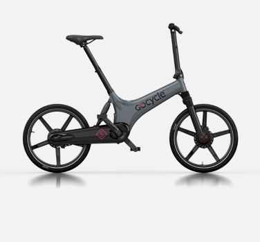Gocycle GS grey and black