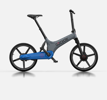 Gocycle GS grey and blue