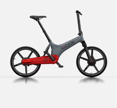 Gocycle GS grey and red