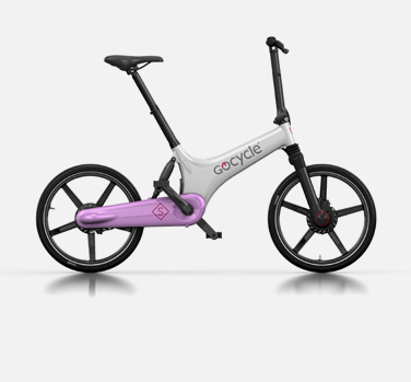 Gocycle GS white and pink