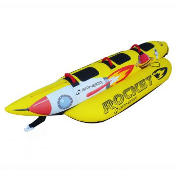 Spinera Rocket 3 person banana towable